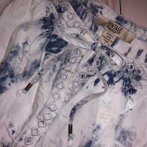 Tie Dye Tunic by Vintage America Blues